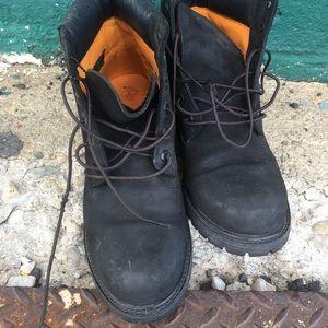 Womens Black Timberland boots size 10